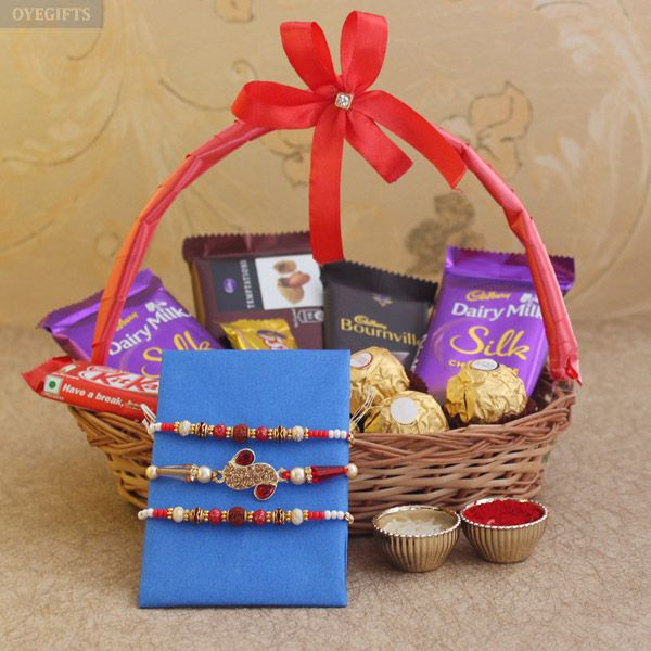 Send Rakhi to your sibling anywhere in India