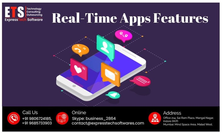Why we integrate real-time Features in Mobile Apps