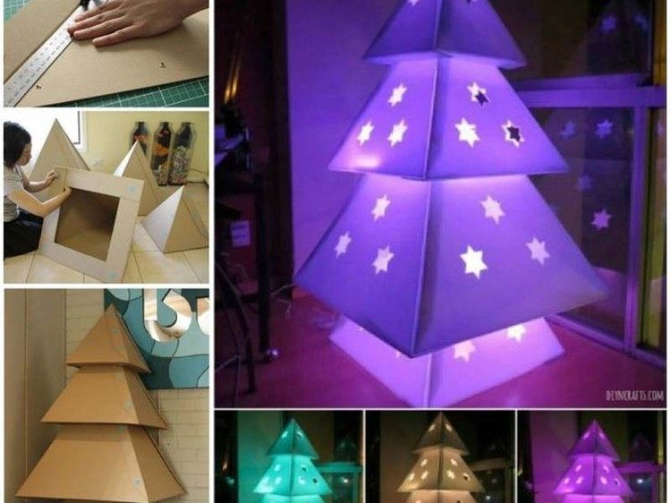 Decor Ideas With Led And Corrugated Boxes