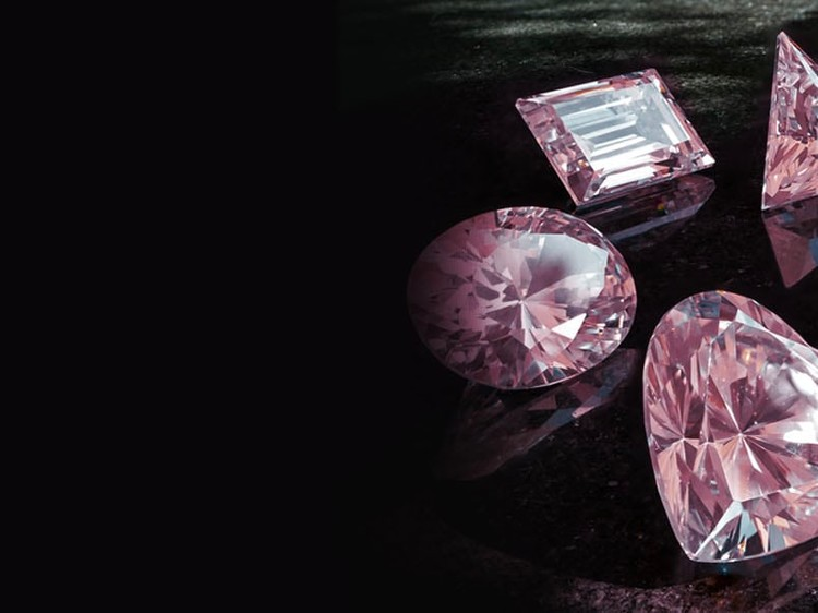 It's my money - An investment, the pink diamond