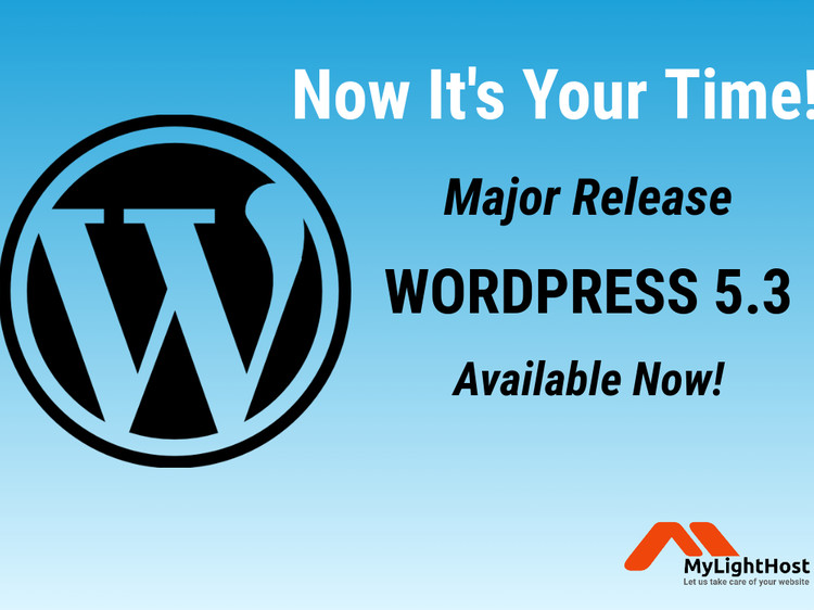 WordPress 5.3 Major Release is  Now Available!