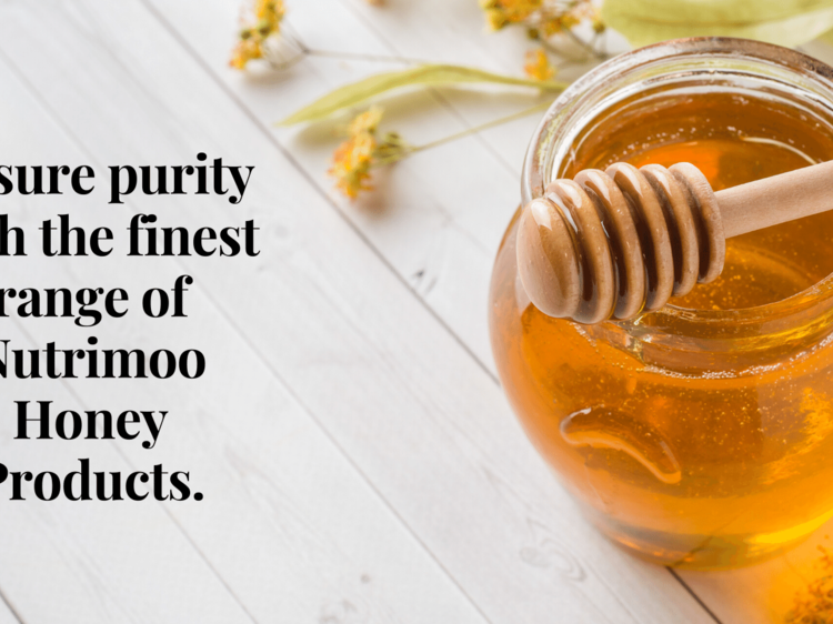 Ensure purity with the finest range of Nutrimoo Honey Products