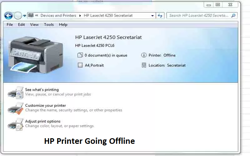 Verified Guidelines to Handle HP Printer Offline Problem