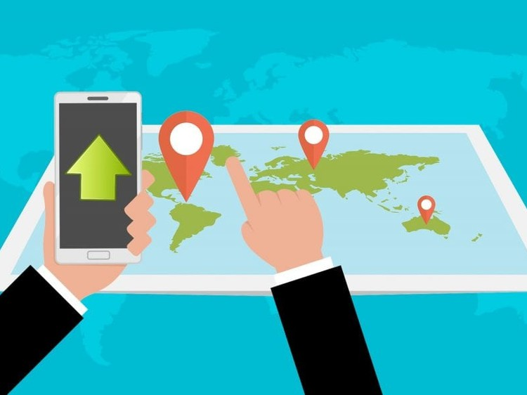 How does the mobile phone tracker app work?