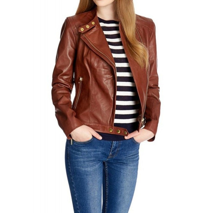 How to design a perfect Women's leather jackets